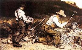 Os quebradores de pedra - Gustave Coubert - 1849