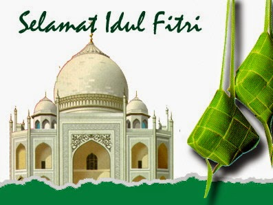 Ucapan Selamat Hari Raya Idul Fitri 1435/ 2014