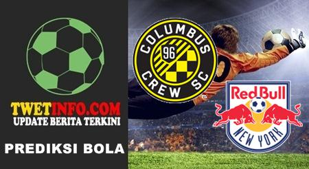 Prediksi Columbus Crew vs New York RB