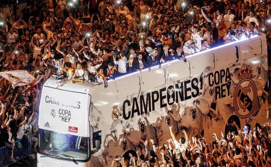 El Real Madrid se proclamó campeón de copa