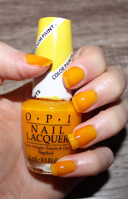 OPI Primarily Yellow