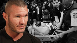 WrestleMania 31 Randy Orton vs Seth Rollins beat down