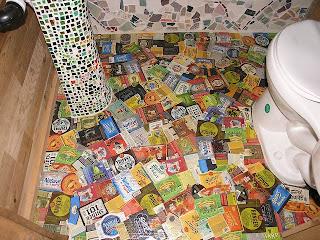 Suelo de papel maché. Fuente: www.phoenixcommotion.com