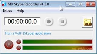 MX Skype Recorder : Rekam percakapan di Skype
