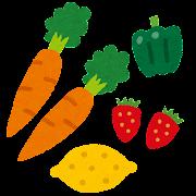 ビタミンのイラスト(栄養素)