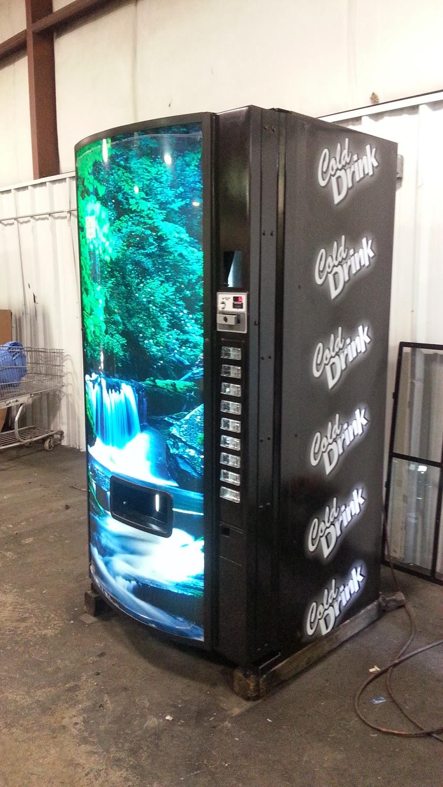 used coke vending machine for sale
