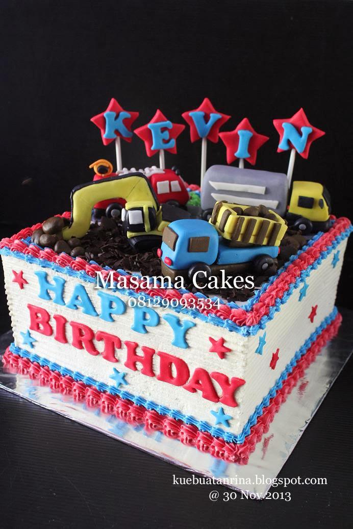 Masama Cakes Transportation Birthday Cake For Kevin