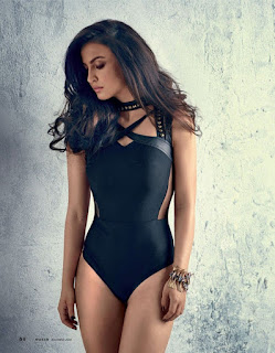 Elli Avram looks negligent spicy in Maxim India December 2015 Issue