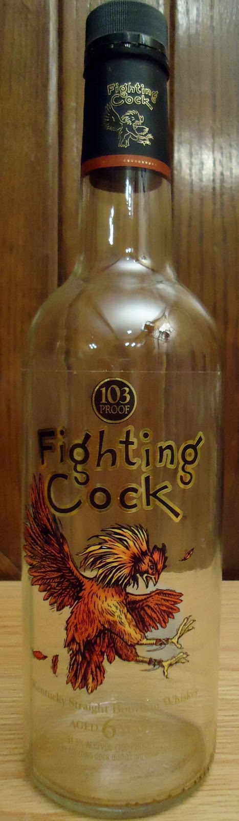 Cock shirt t fighting whiskey