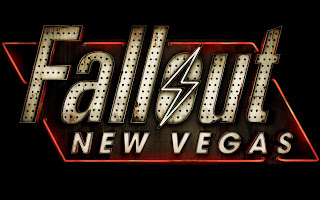 Fallout New Vegas Neon Lights Logo HD Wallpaper