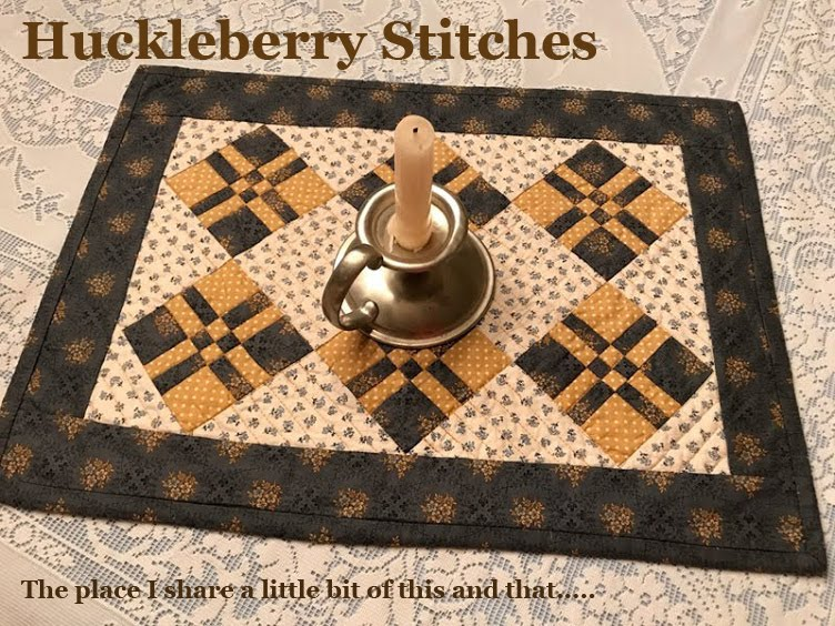 Huckleberry Stitches