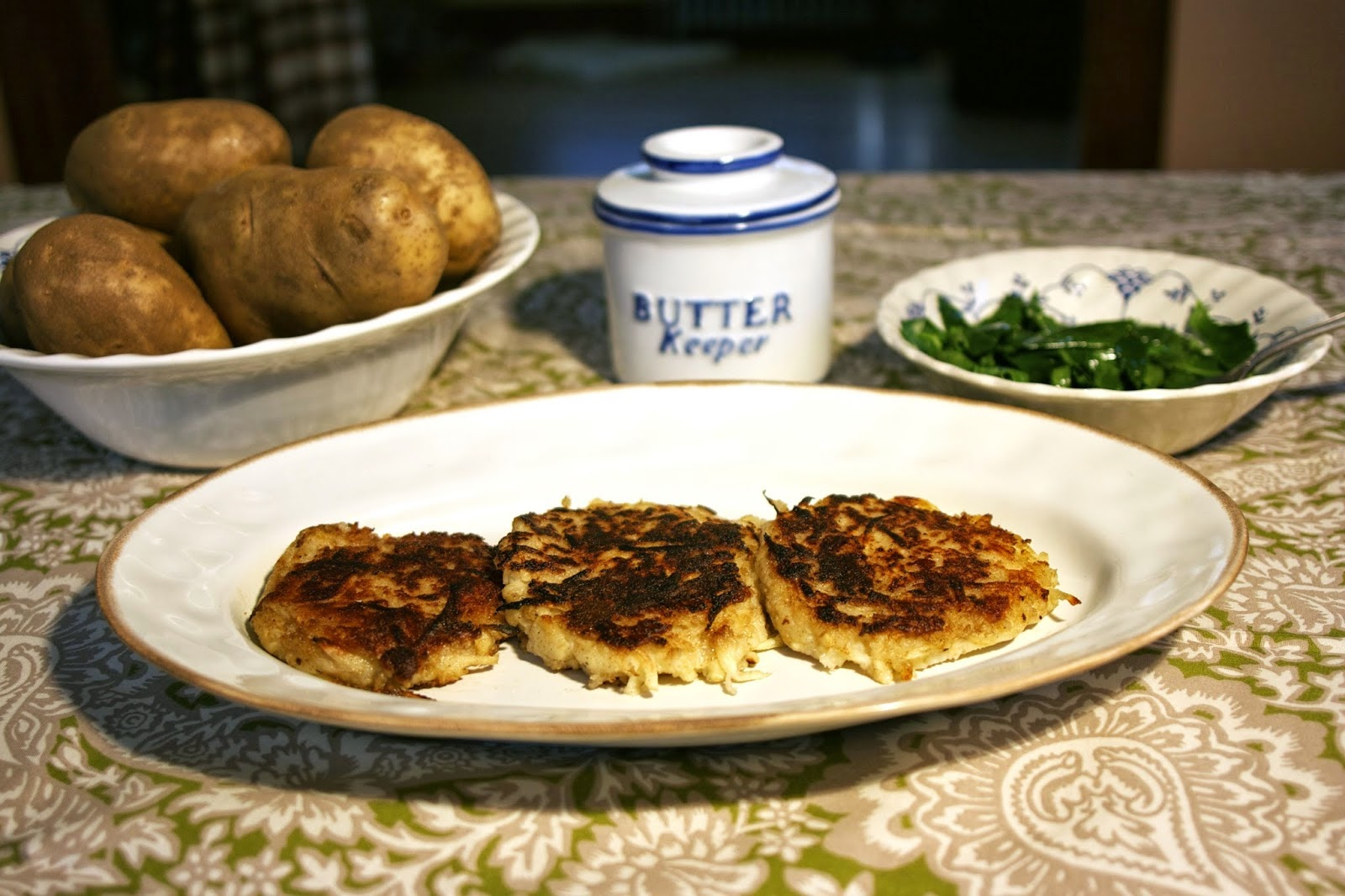 Irish Potato Pancakes (Boxty) with Parsnips: simplelivingeating.com