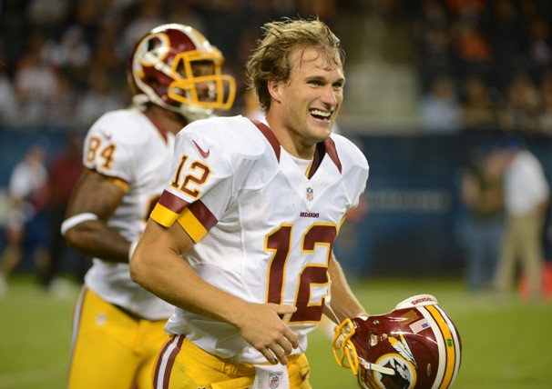 Giants Could Face Kirk Cousins, Not RGIII, In A Few Weeks