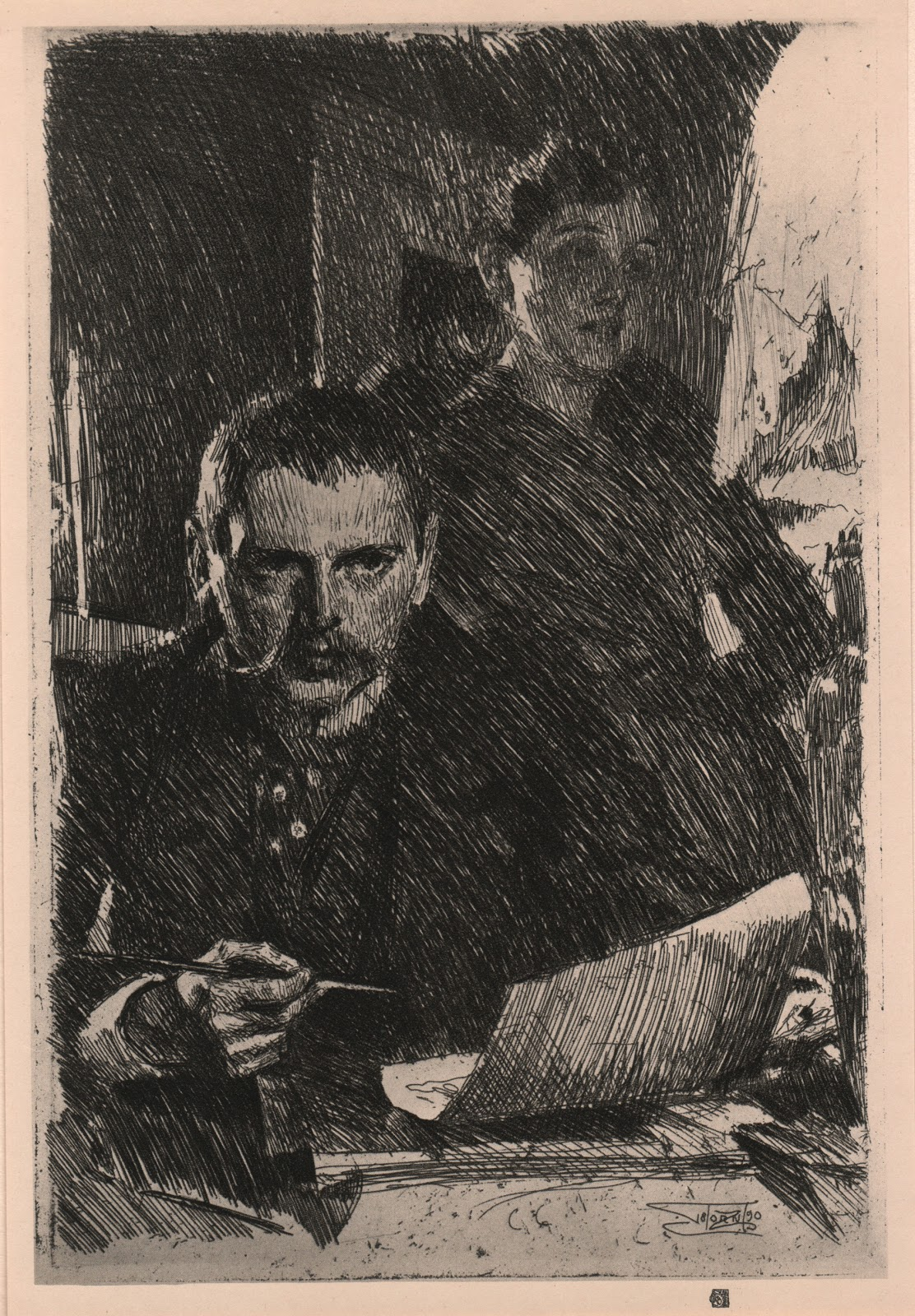 surface fragments  the etchings of anders zorn