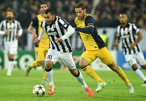 Liga Champions : Juventus 0-0 Atletico Madrid