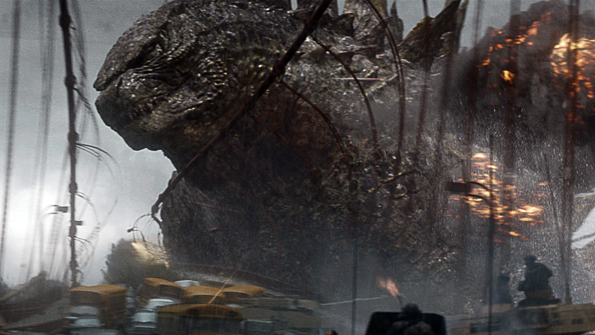 godzilla 2014 movie image hd  1920x1080Godzilla 2014 Wallpaper Roar