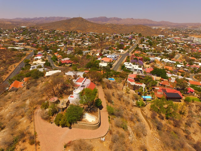 Namibia Windhoek Aerial Photo Gallery