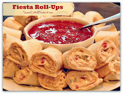 Fiesta Tortilla Roll-Ups - Only 4 ingredients