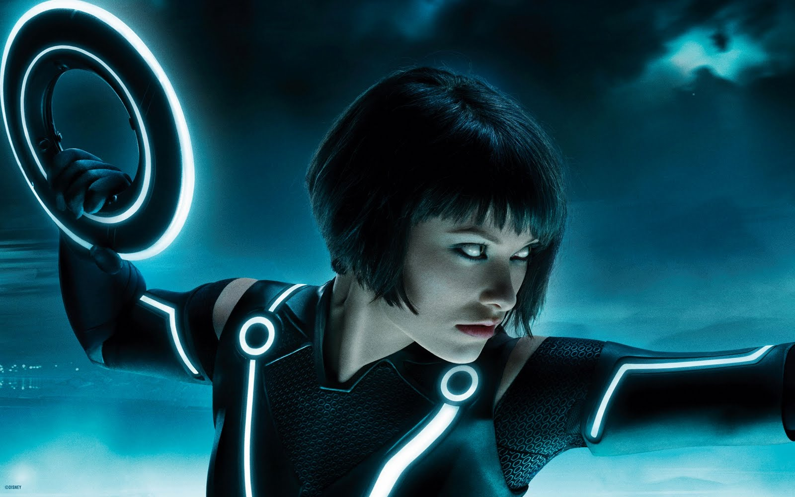 Olivia Wilde Tron Legacy Multi Monitor Free Wallpapers