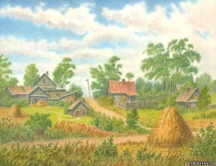 Околица. Деревня Крокол