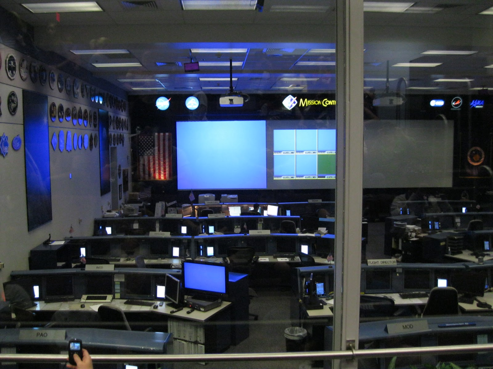 mission control johnson space center