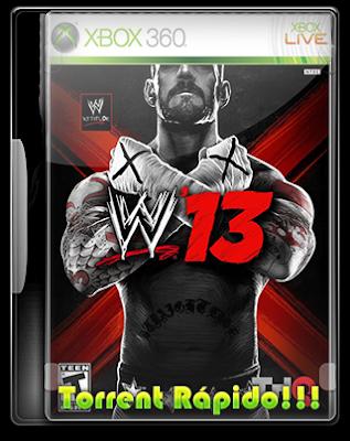 Entrar no ringue da edição '13 do jogo de vídeo WWE. WWE '13