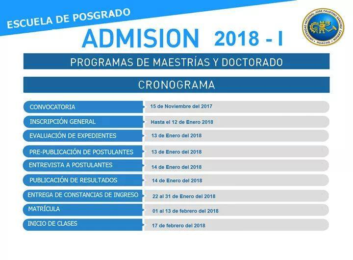 ¡PROCESO 2018-1 !