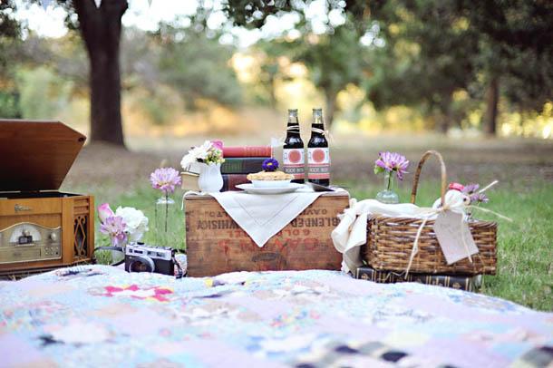 Un plan de picnic para San Valentín