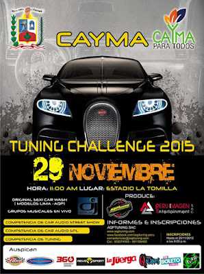 Tuning Challenge Cayma 2015
