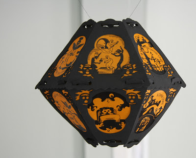 The Cornish Litany limited edition Halloween lantern (prototype) by Robert Aaron Wiley for Bindlegrim Productions