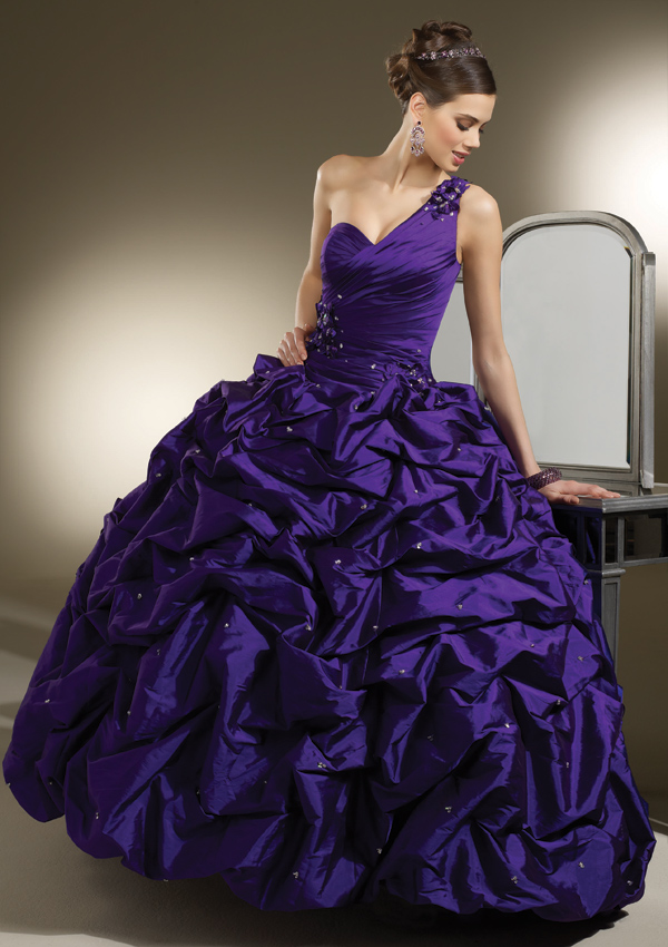 Purple Wedding Dresses For  : Purple wedding dress ideas