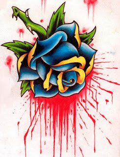 rose tattoos, tattooing