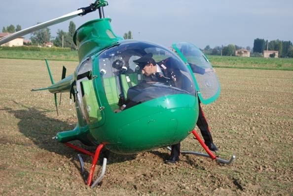 Elicottero Ultraleggero : Notizie dalle valli del reno e setta atterraggio d