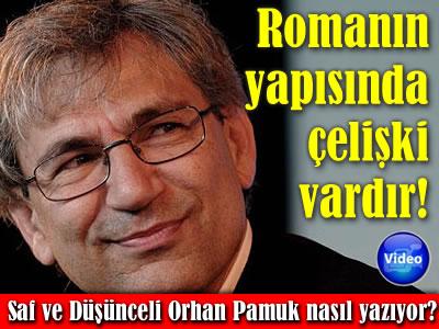 Saf ve Düşünceli Romancı kitabı Orhan Pamuk NTV röportajı video