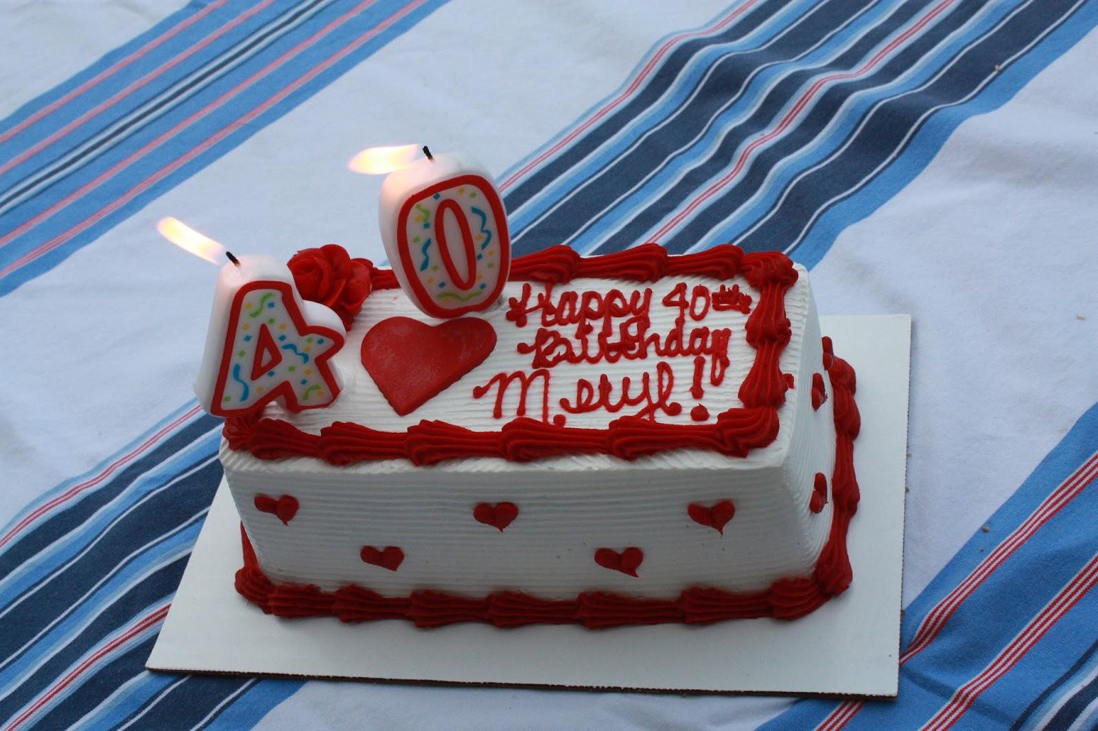 GRACE PLUS ONE Happy 40th Birthday Meryl