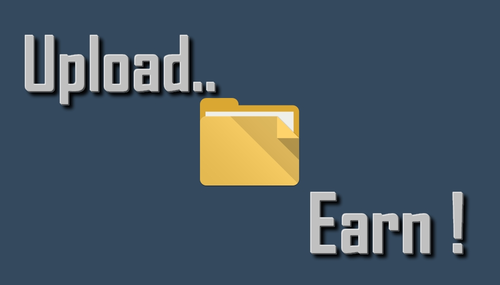 earn money by uploading and sharing files
