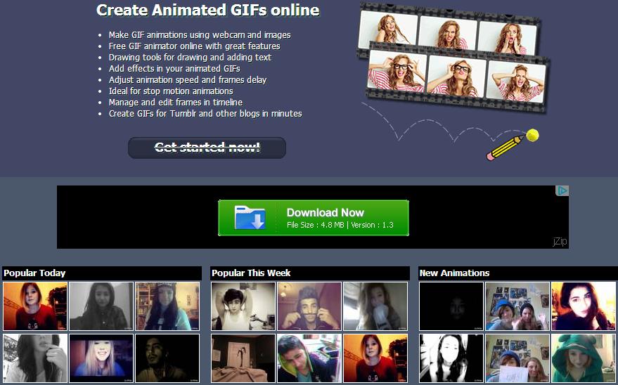 افضل المواقع لعمل صورة ''جيف'' gif مجانا ودون معرفة مسبقة بالبرمجة