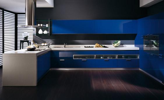 Dise 241 Os De Cocinas Modernas Color Azul Ideas Para Decorar Dise 241 Ar Y Mejorar Tu Casa
