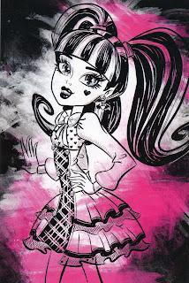 Monster High, Imagenes de Draculaura para Imprimir, parte 2