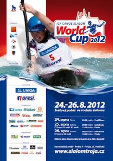 PIRAGÜISMO AGUAS BRAVAS-Copa del mundo Slalom Praga 2012