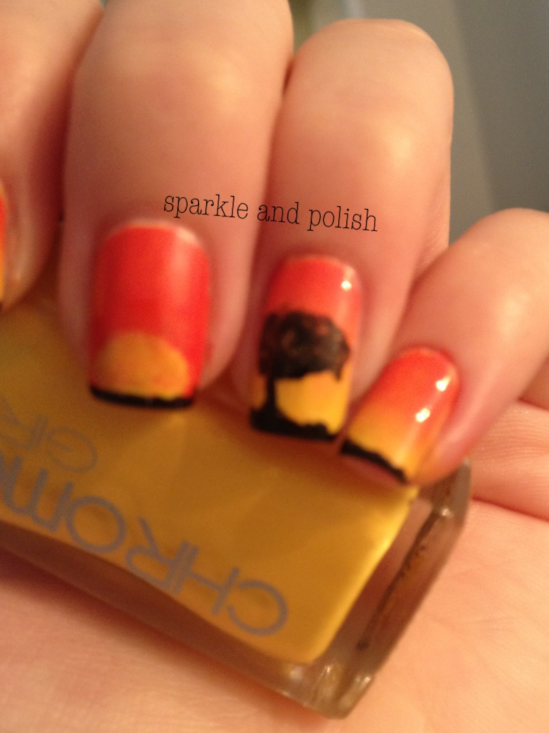 A Little Sparkle and Polish: Disney Nail Art Challenge Day 7: The ...