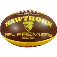 Hawthorn Hawks footballs