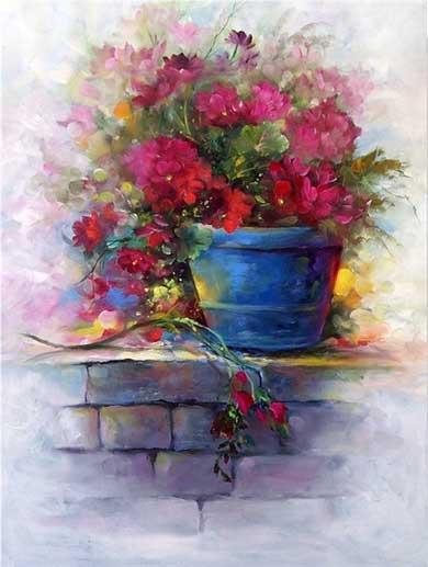 Gary jenkins american floral painter