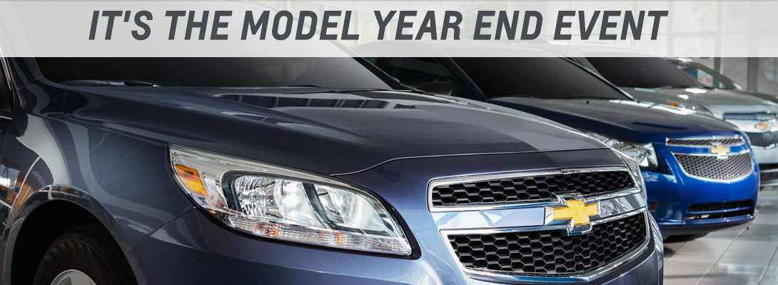 Chevy Model Year End Event