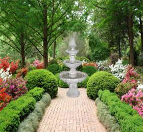 Decoraciones y modernidades modernos patios o jardines con fuentes decorativas - Jardines con fuentes de agua ...