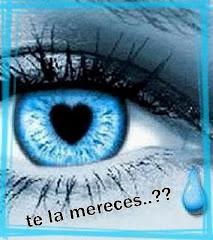 Una de mis lágrimas lleva tu nombre...