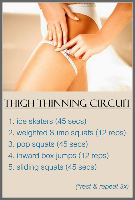 CRAVE fitness: Thigh Thinning Circuit