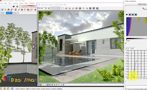 Render vray dengan Spek Minim