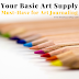 Your Basic Art Supply Must-Have for Art Journaling
