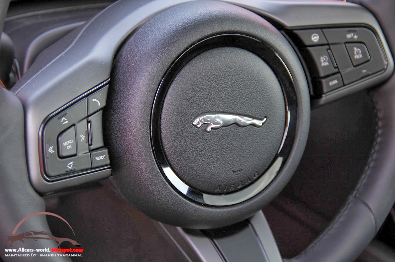 Automotive news 2015 jaguar f type r coupe - Jaguar f type r coupe interior ...